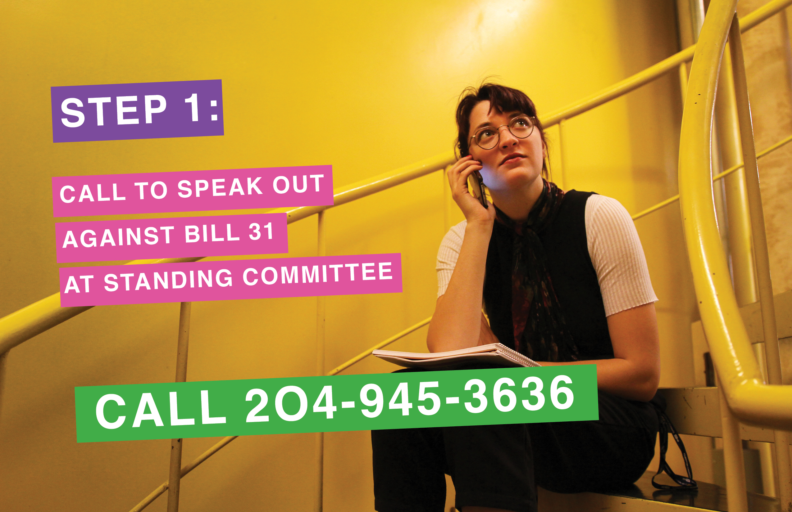 Step 1 - Bill 31 Campaign