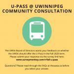 U-Pass @ UWinnipeg Community Consultation