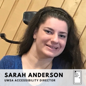 A picture of UWSA Accessibility Director Sarah Anderson